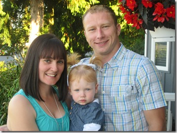 Scott, his wife Jill, and daughter McKenzie