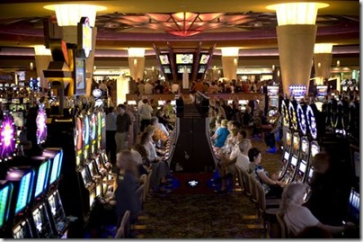 Mohegan Sun: Come for the game, stay for the GAMBLING