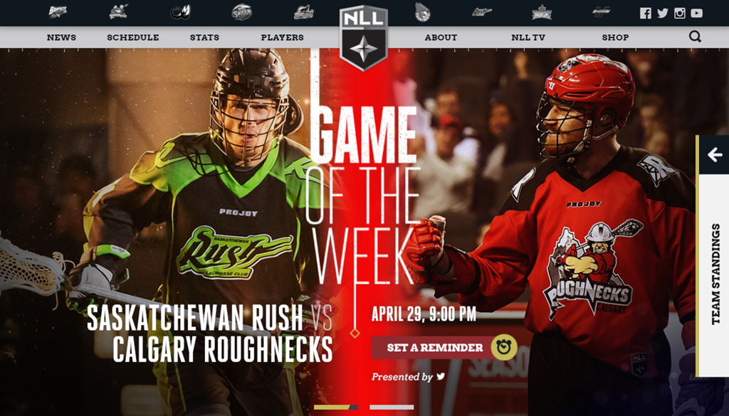 Review of the new NLL com | NLL Chatter