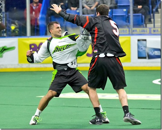 """Go on, say BILL-ick one more time"" (NLL photo)"