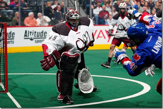 Dillon Ward (Photo credit: Colorado Mammoth)