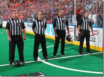 Photo credit unknown, came from NLL ref Todd LaBranche's twitter profile
